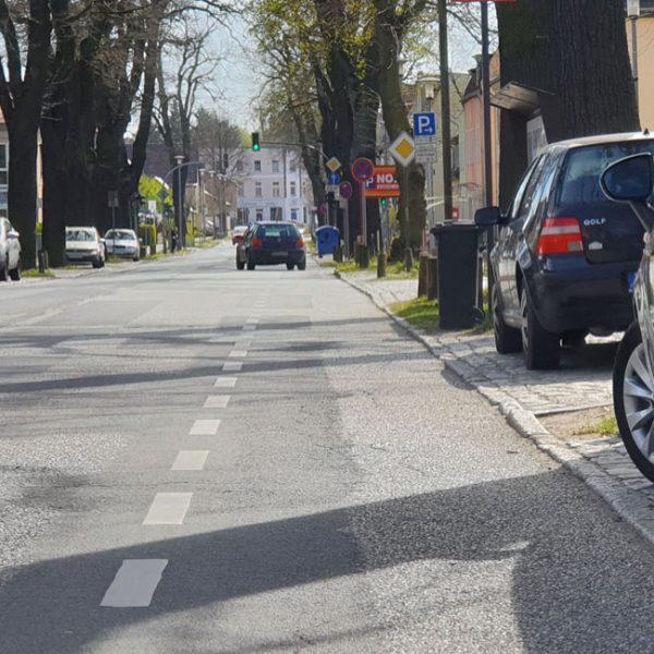Rad-Unfall Hot-Spot – Potsdamer Straße in Michendorf!