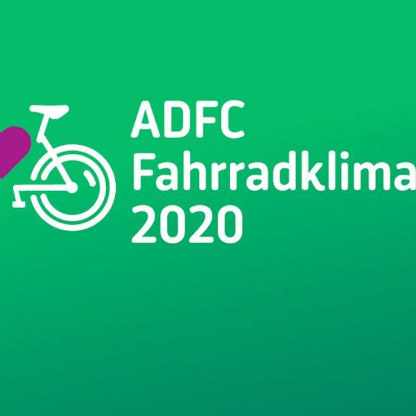 Ergebnisse des ADFC-Fahrradklima-Tests 2020